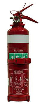 Cheap 1kg DCP Fire Extinguisher just $24 Free Delivery*